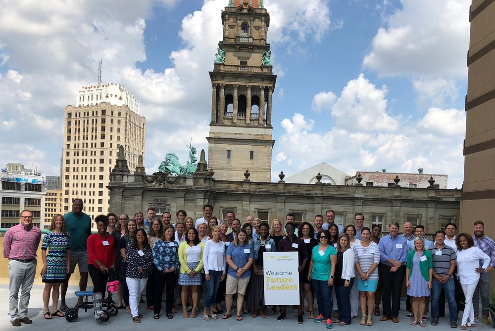 2018 Future Leaders attendees and staff (Detroit, MI)