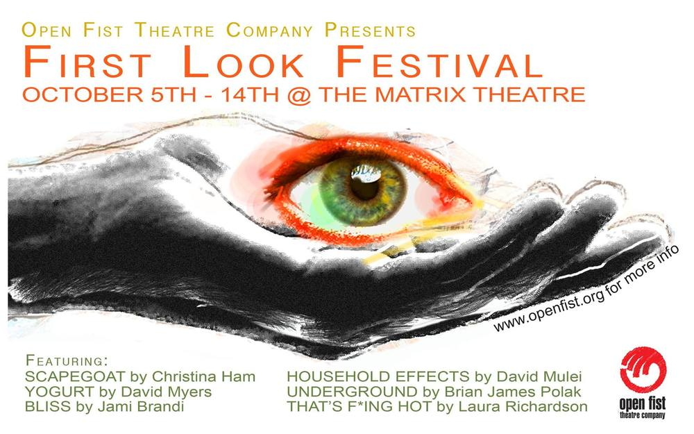Open Fist Theater Company: First Look Festival — Brian James