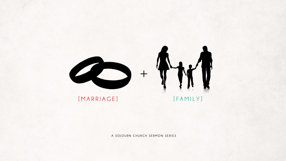 Marriage and family sermon series