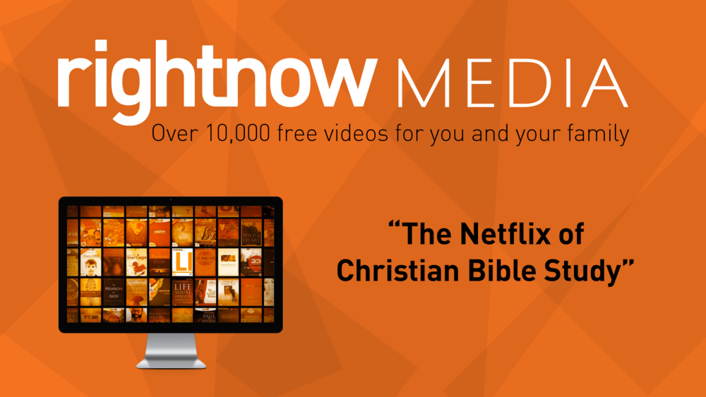 Click on this image to get invited to join RightNow Media. It is our gift to you!