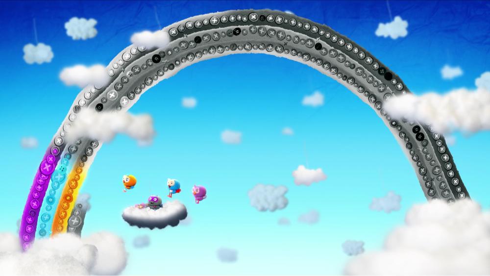 final rainbow frame