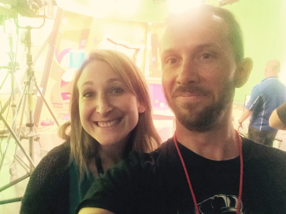 with producer, Janice Zets