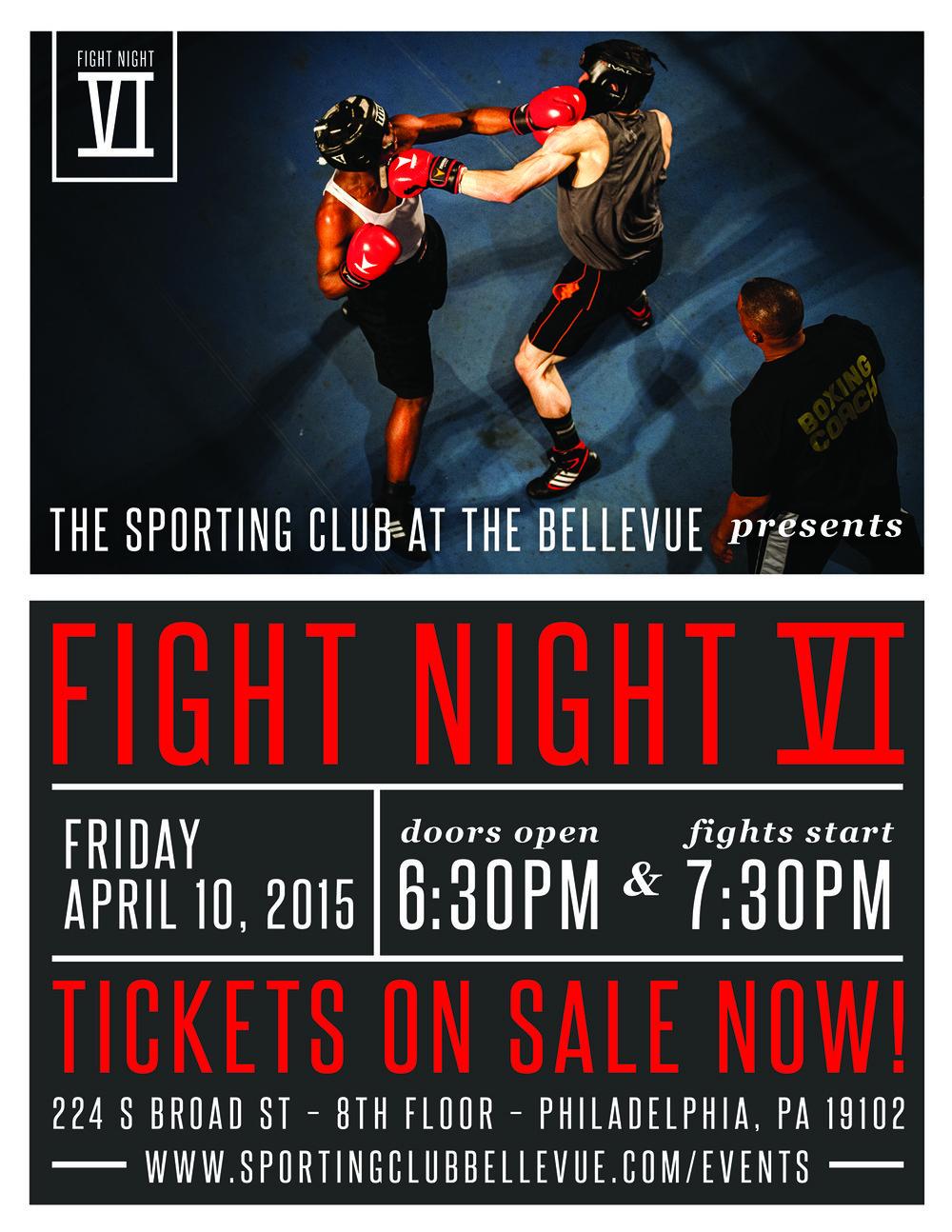 Fight Night 6 Poster