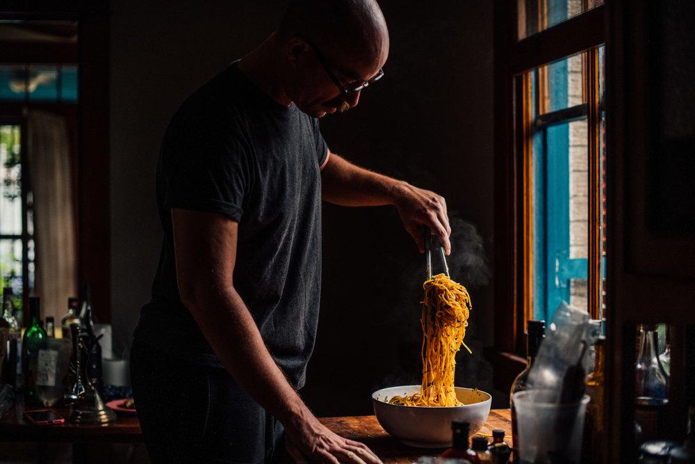 Mix it well. 📷:  Denny Culbert