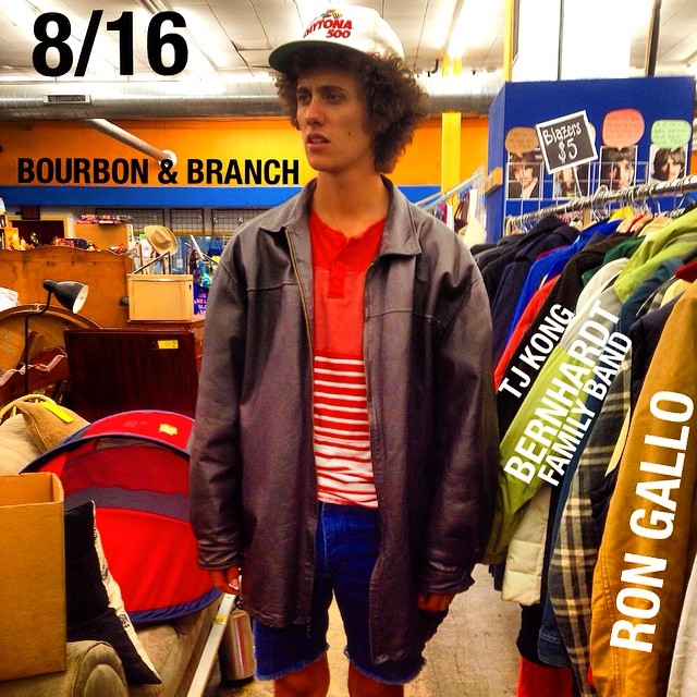 philly go see this Saturday! @bourbonandbranch @rongallo @tjkongalong #bernhardtfamilyband