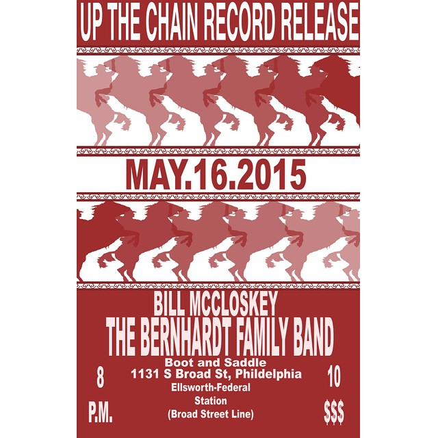 Bill McCloskey back at boot and saddle May 16th.  @upthechain @kate_bernhardt @bootandsaddle #jazz