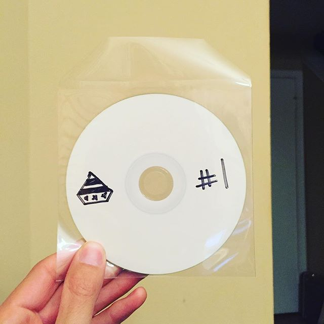 it may look like a cd-r but its really THE BEST FUCKING COLLECTION OF ROCK AND ROLL MUSIC BEING MADE IN 2016 and its called AMERICAN DIAMOND VOLUME #1 coming friday.... the tracklist is incredible. just wait.