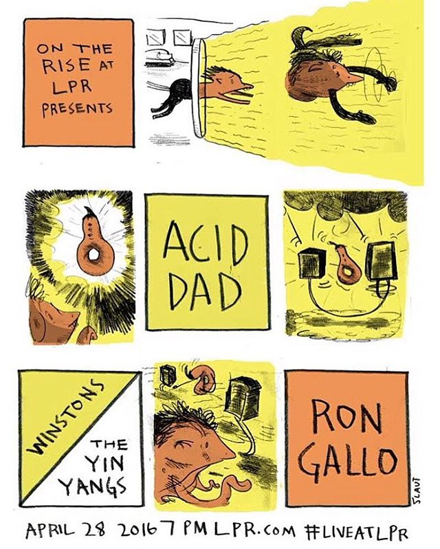just gonna go ahead and deem this the best rock and roll show in america tonight. @lprnyc @aciddad666 @rongallo @theyinyangs @winstonsband