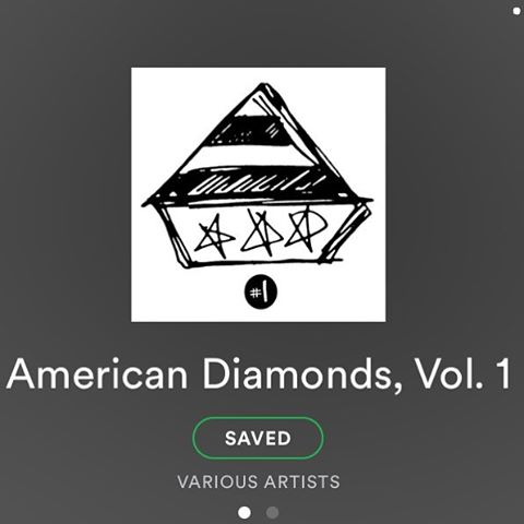 "hi. wake up whenever you do and go on spotify and search for ""american diamonds volume 1"" and listen to it. its a great compilation and the first of many to come.  songs by: @ianthomasferguson @talljuanzaballa @rongallo @queenofjeans @happiness_band @jordanhullme @nehi_band #supermelt @theminksss @charlie_shea_ @ravishavi @okeydokeyband"