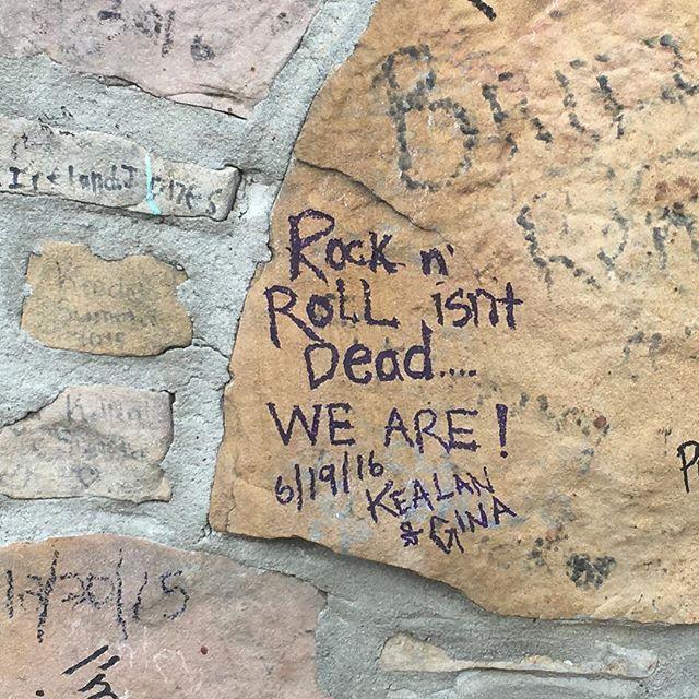 GRACELAND TAG courtesy of @kealanshilling @gnahhpan  #rockandrollisntdeadweare