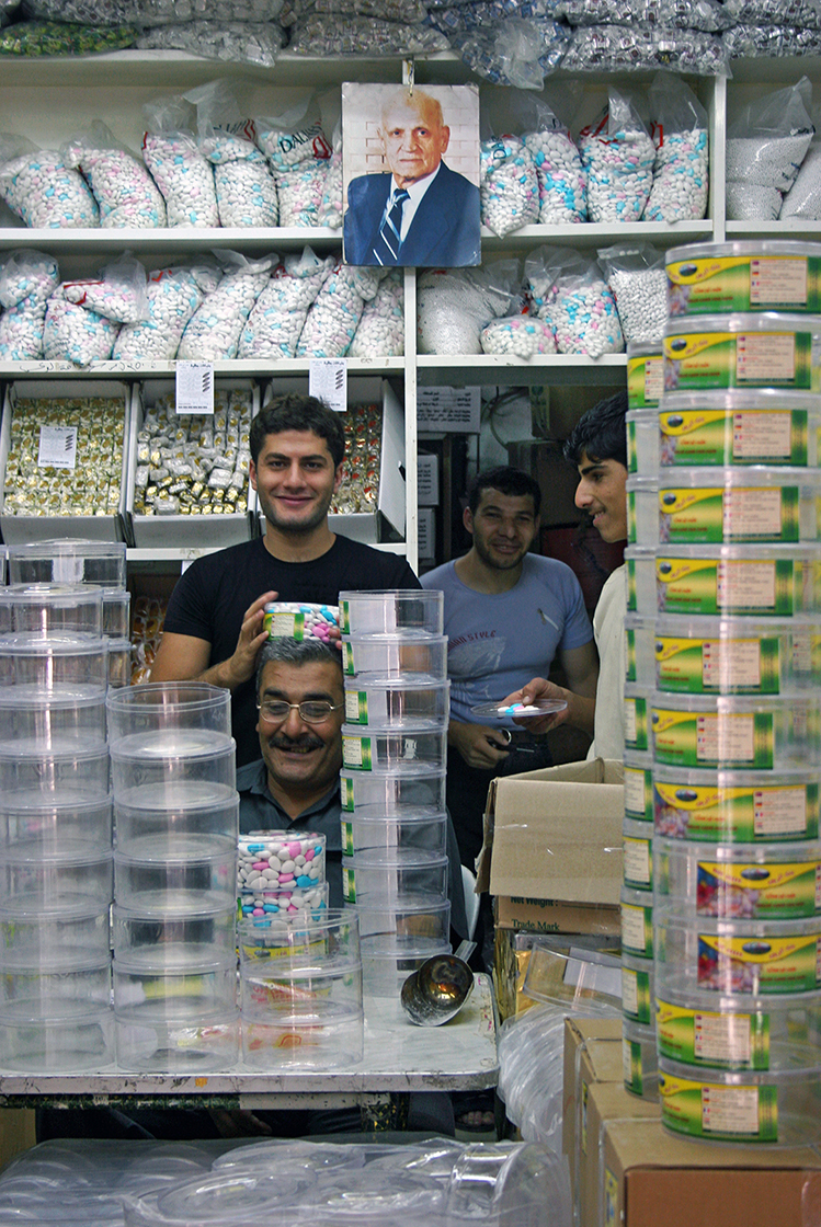 The Family of the Candy factory in Old Damascus