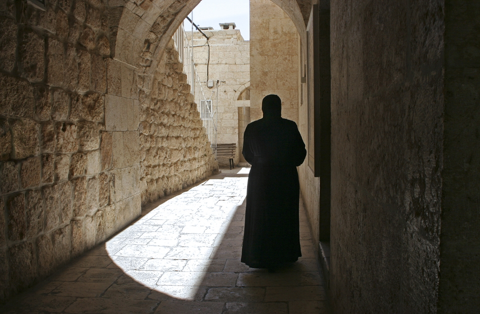 At Saint Tekla Monastery, Maaloula