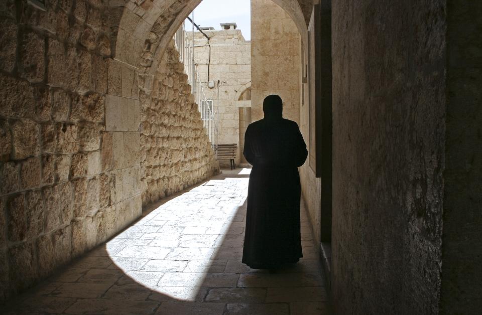 At Saint Tekla Monastery, Maaloula