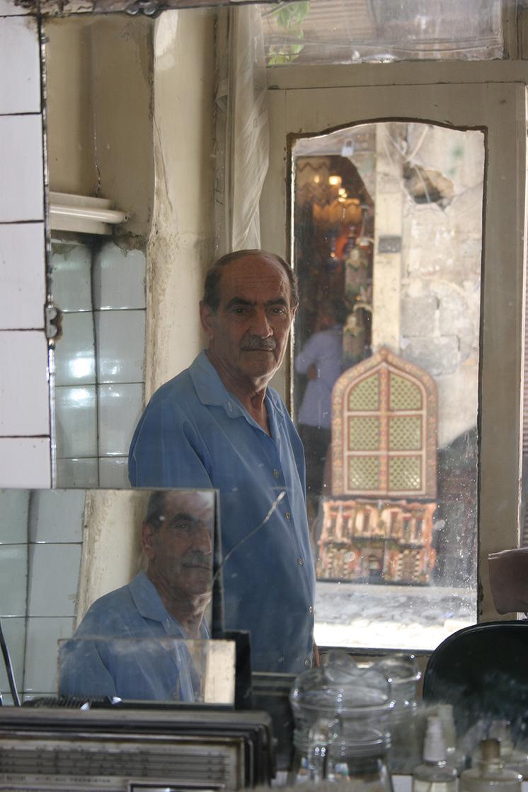 Barber, Midhat Pasha Souq
