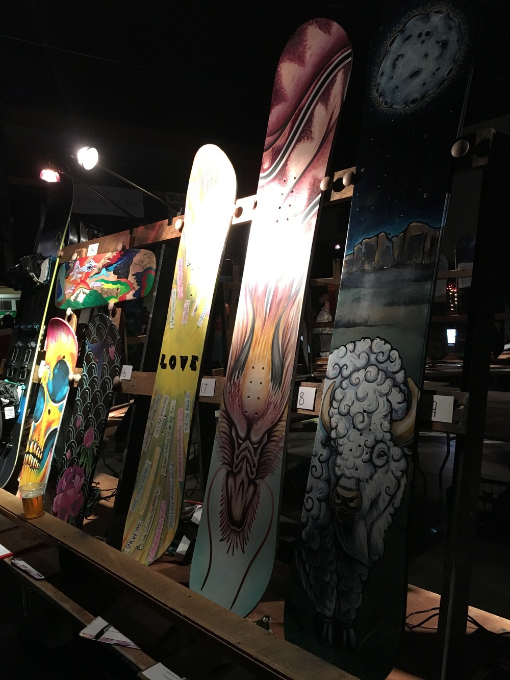 Broken Board Art Auction, Megan McGuinness