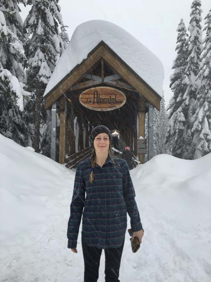 Janessa at Alpental