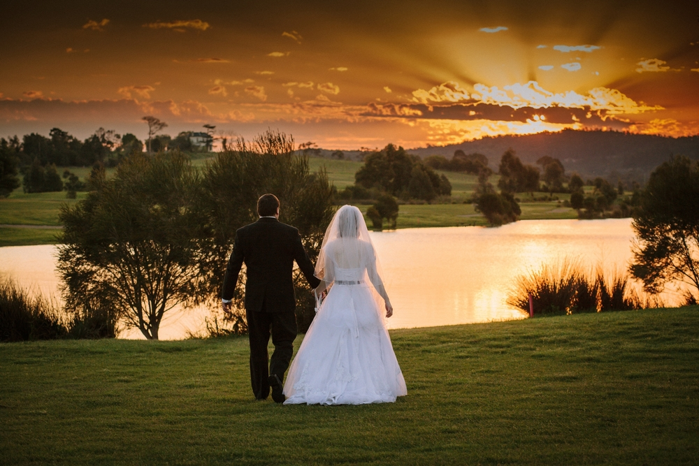 Time out for a Romantic Sunset Walk.