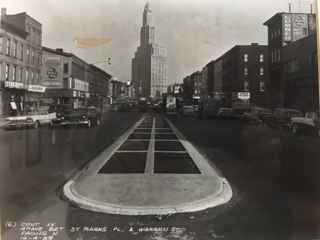 Our block in 1959