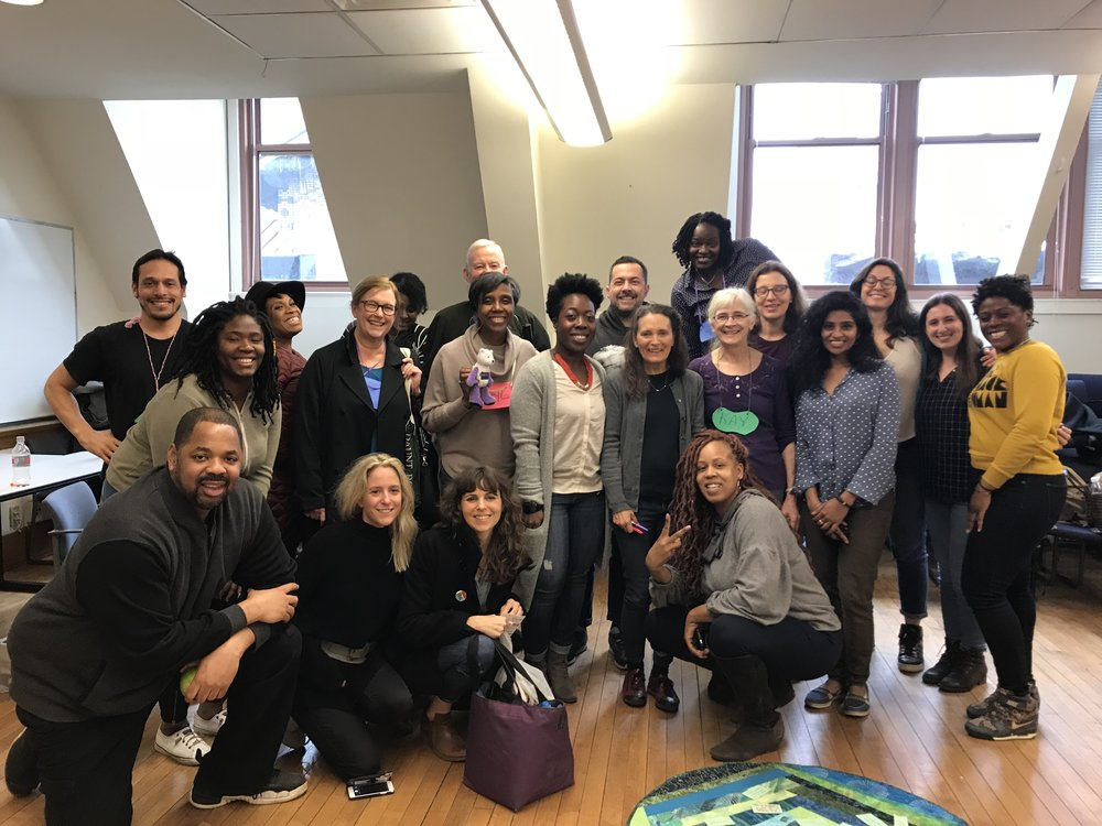 Spent two days at Columbia learning about Circles [a restorative justice practice] while meeting this incredible group of people