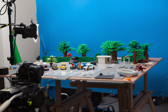 Lego, stop-motion and other tricks... — GARETH WARD
