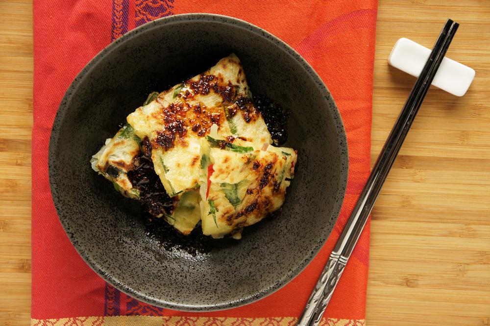 什錦海鮮煎餅