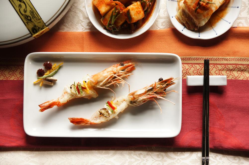 韓式鮮蝦蒸