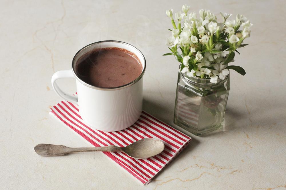 香料熱巧克力
