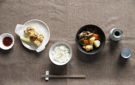 7.馬鈴薯燉肉與日式炸雞
