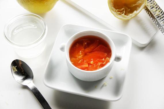 蜂蜜蕃茄果凍