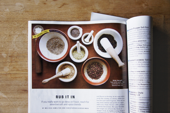 "by Melissa Hamilton and Christopher from ""Bon Appetit Magazine""Summer grilling 2012, page 58"