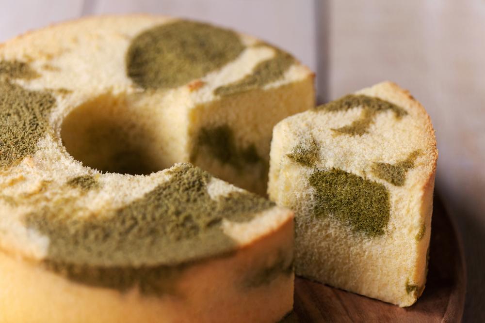 抹茶扭紋日式戚風蛋糕