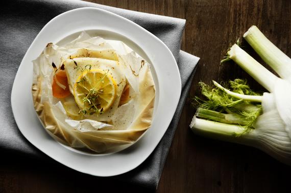 紙包茴香圓鱈