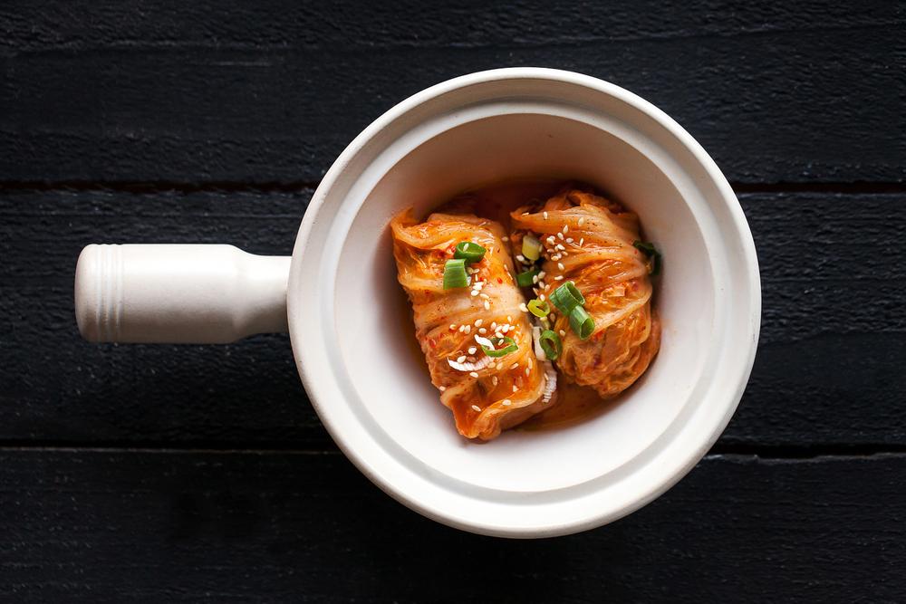 長生泡菜肉卷燉鍋