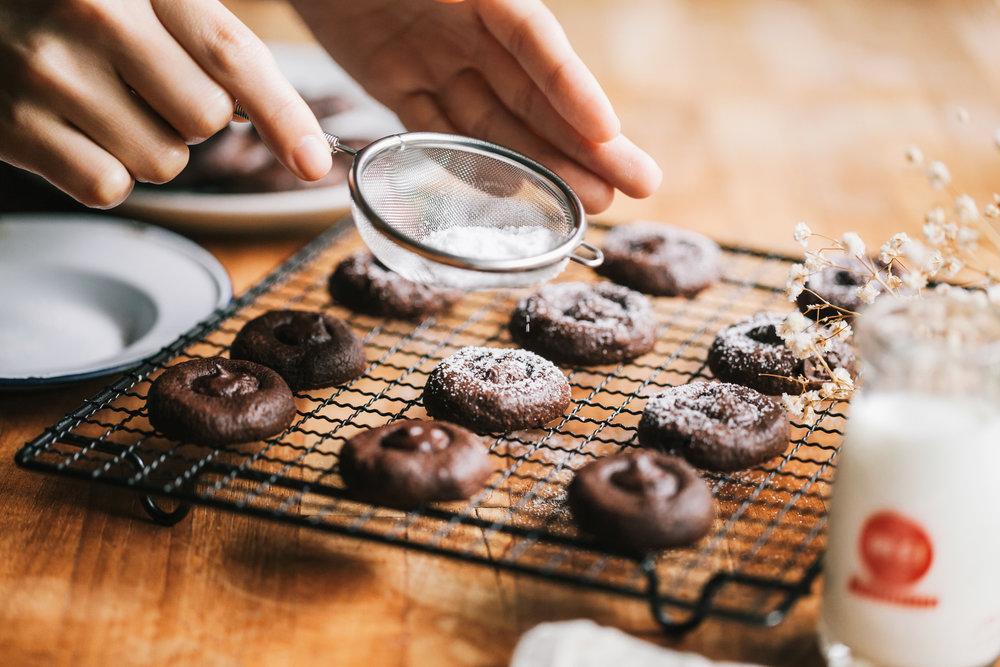 濃情巧克力鈕扣餅乾