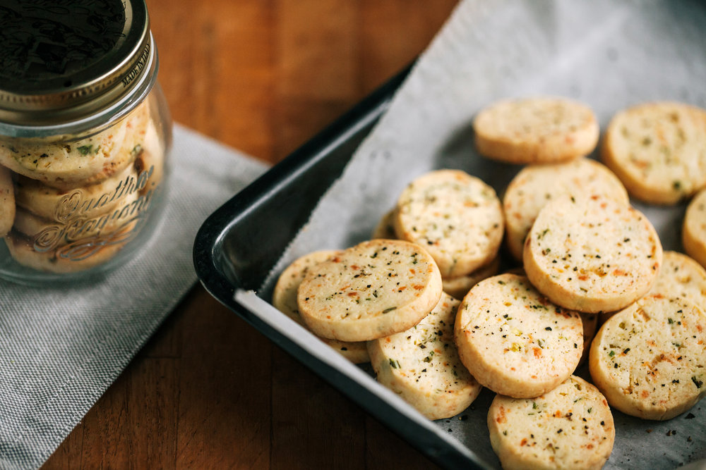 鹽之花香蔥乳酪餅乾