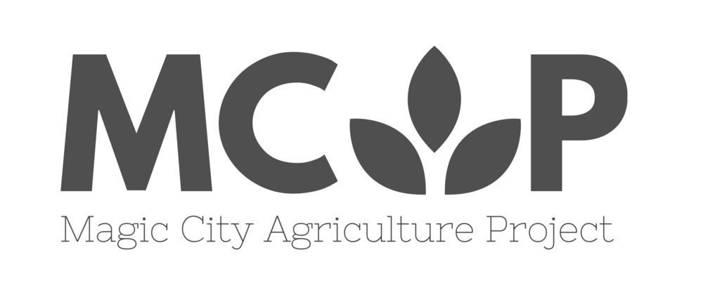 Redesigned 2016 logo for Magic City Agriculture Project.