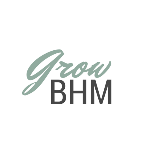 "Design for ""GrowBHM,"" a proposed event for fall 2016."