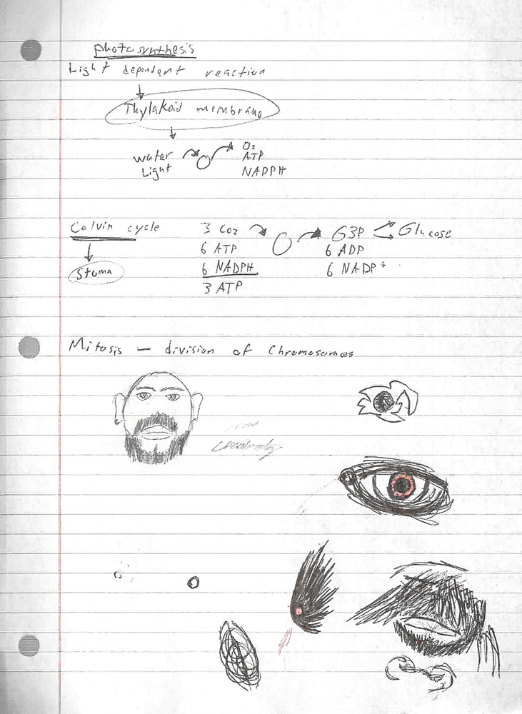 Doodles on Notes