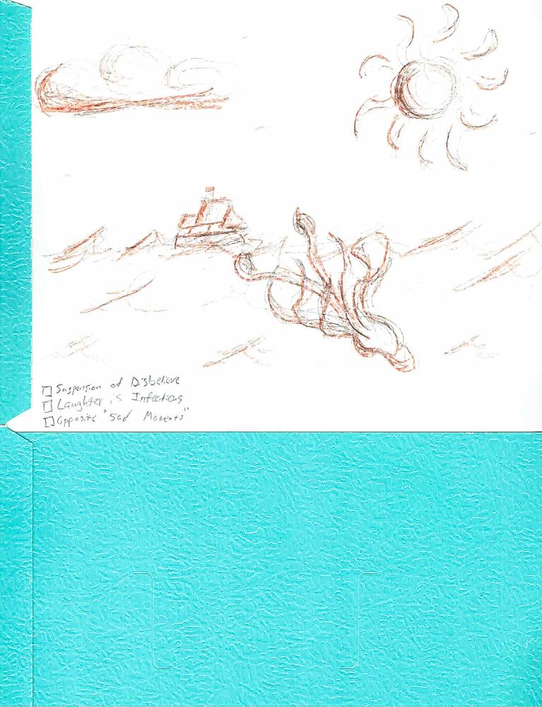 Doodles on Production Folders