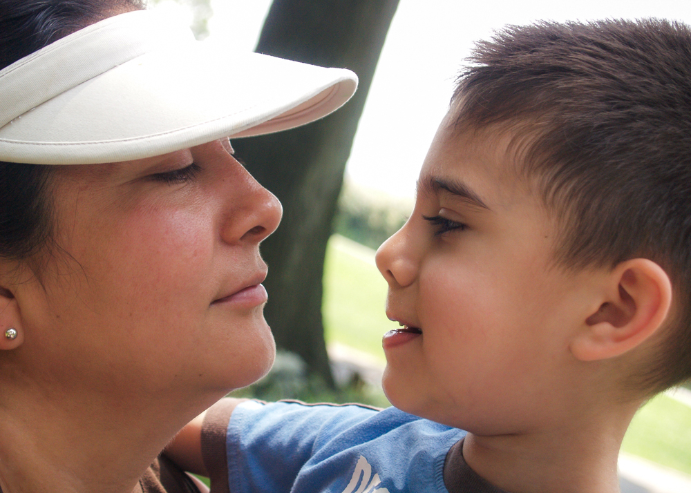 My loving mother and my youngest brother. Circa 2012.