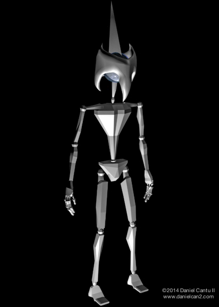 Initial concept design, Autodesk 3DS MAX, 2008