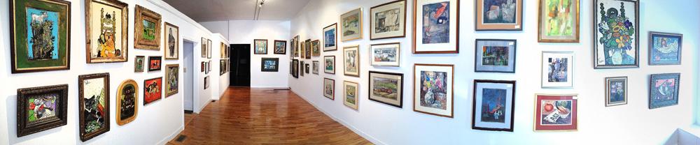 Henry Faulkner exhibit, Spring 2014, Hockensmith Fine Art Editions Galley & Press
