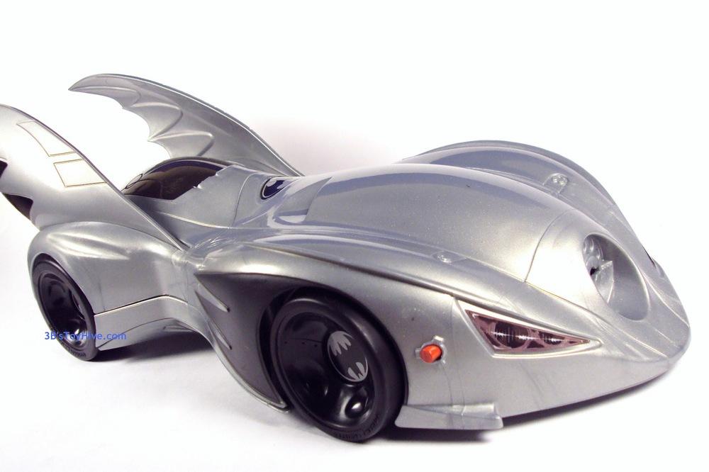 Silver Batmobile toy, circa 1994, via 3bstoyhive.com