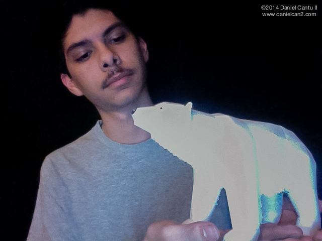 Papercraft Polar Bear, circa 2010