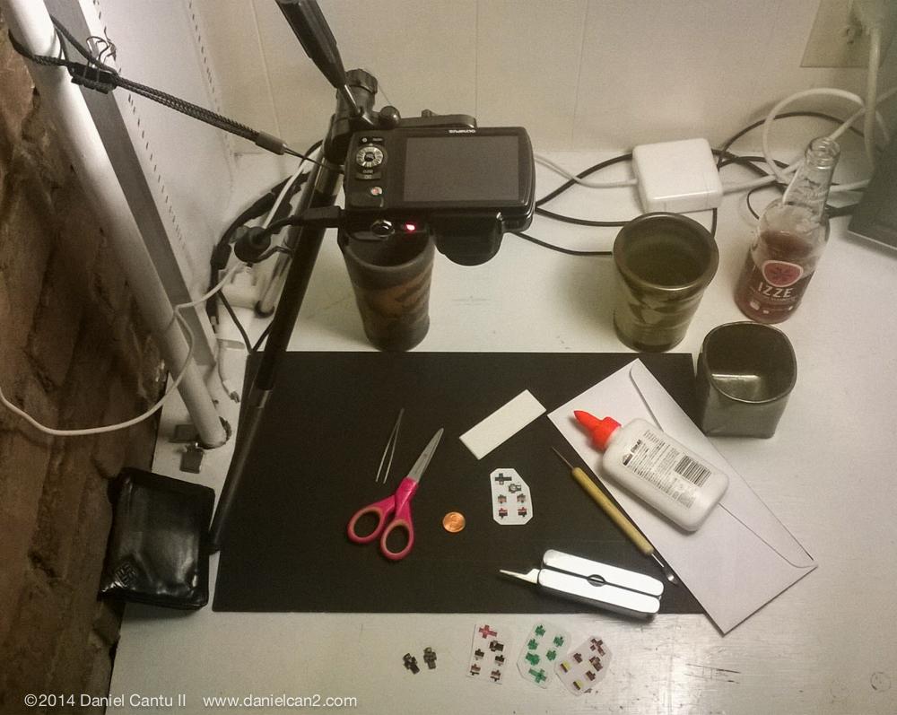 My film setup, September 2014