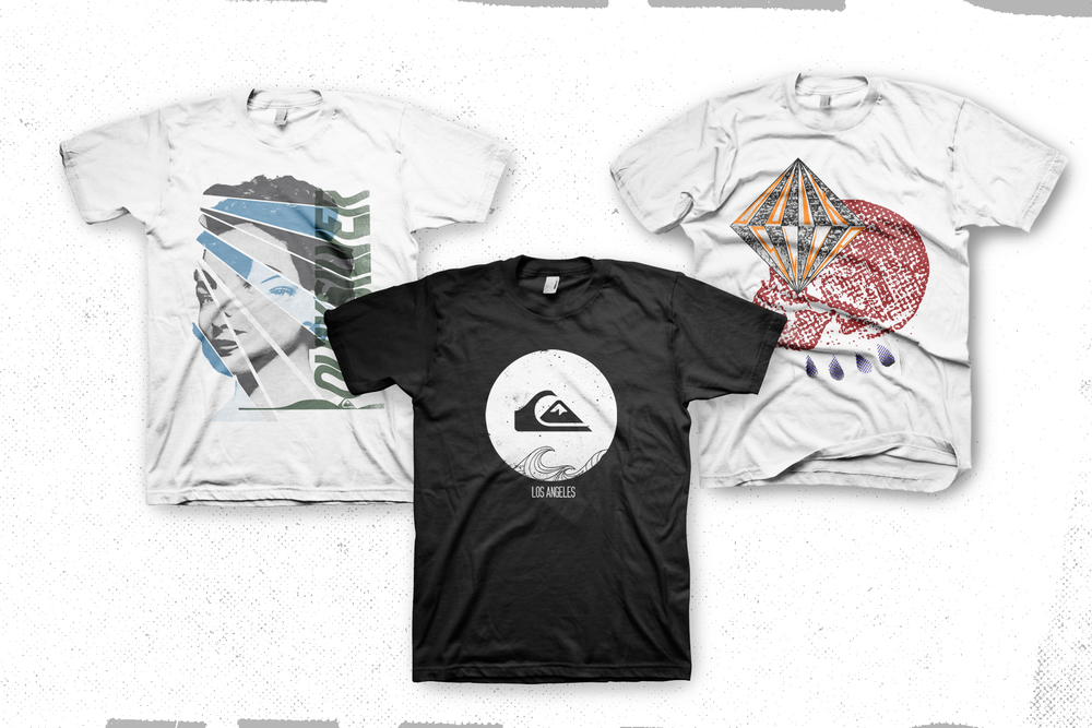 Shirts for Quiksilver