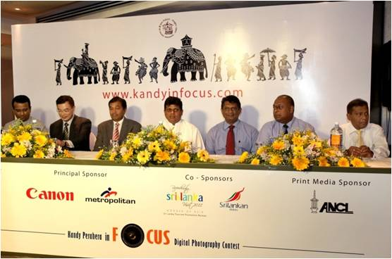 Kandy In Focus - Press conference at Cinnamon Lakeside Colombo; 2011