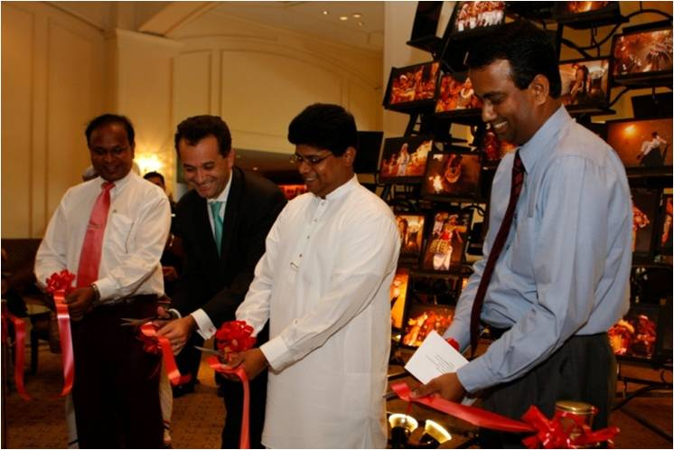 "Launch of our very first photo gallery ""Kandy Esala Perahera"" at the Hilton, Colombo 2009"