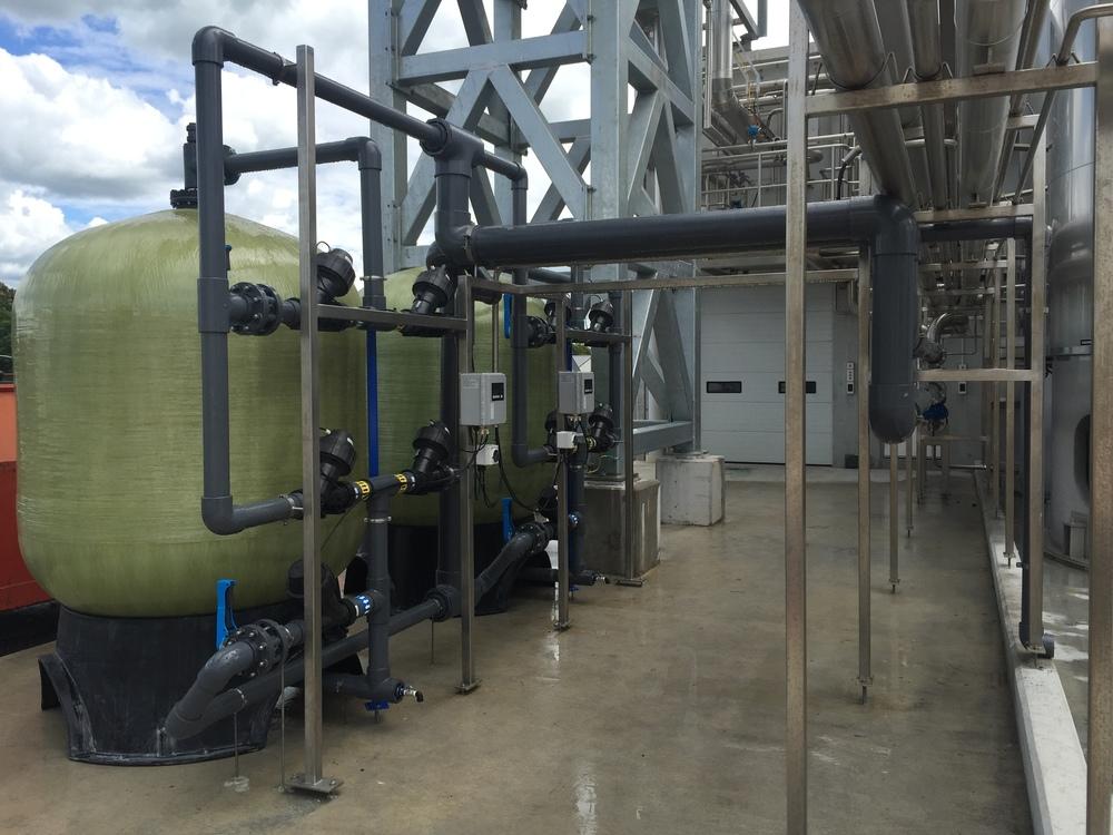 Carbon Filter Fonterra Waitoa