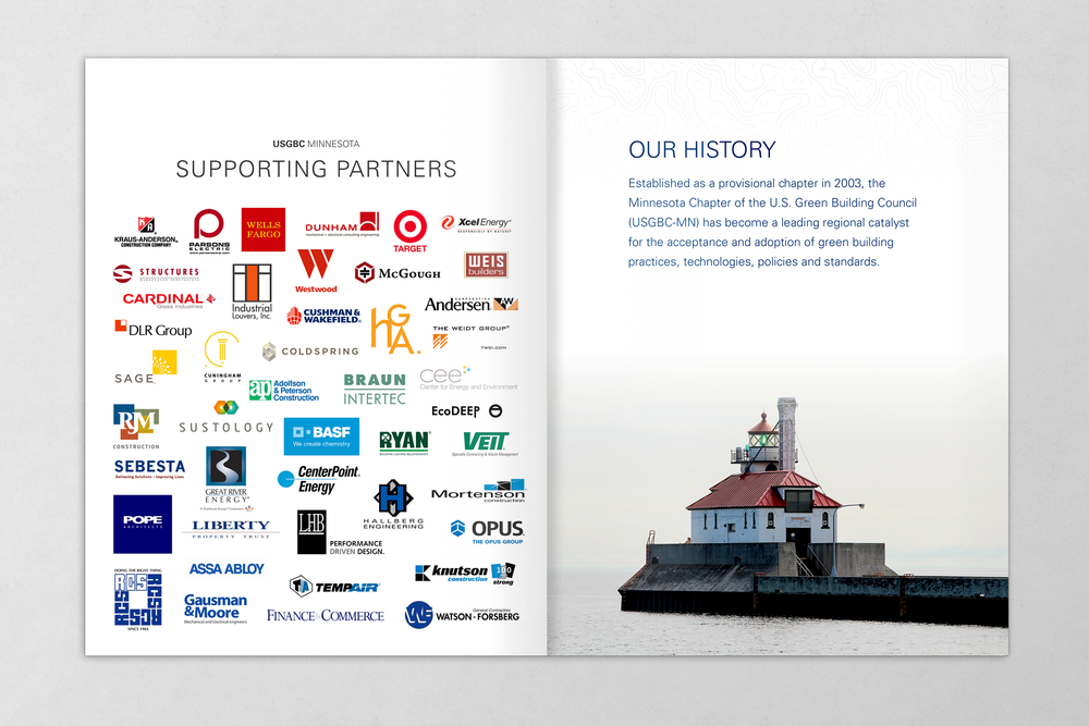 USGBC-MN 2016 Brochure Sustaining Partners / History
